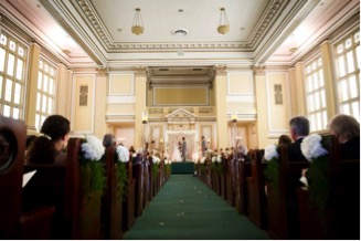 Wedding in Sanctuary