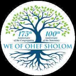 Ohef Sholom Anniversary Logo_WhiteBackground-01