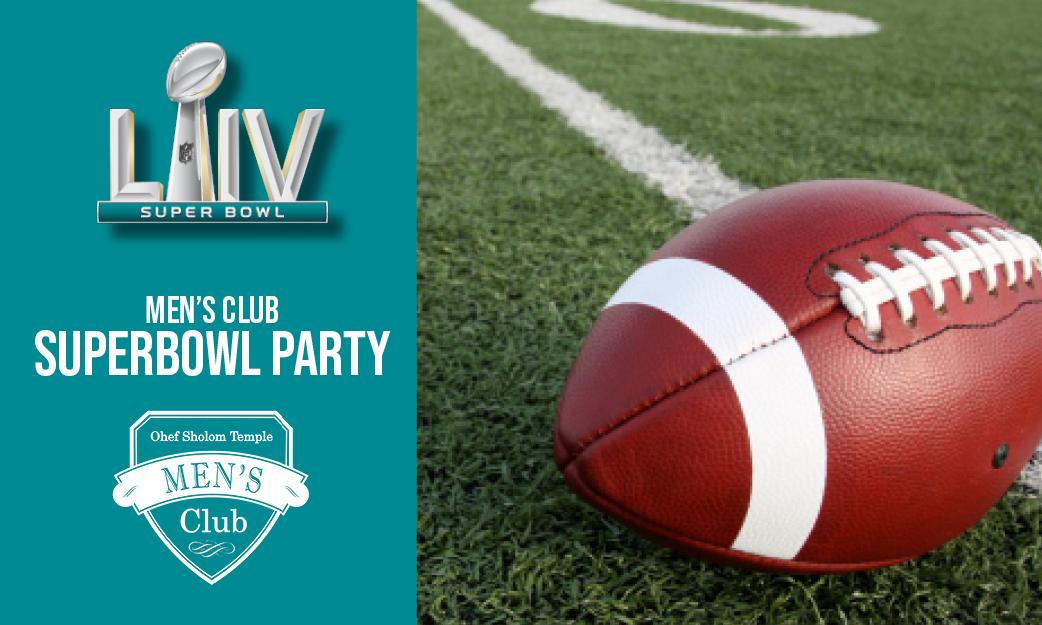 Men's Club Super Bowl Party