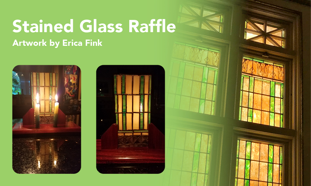 Stained Glass Artwork Raffle