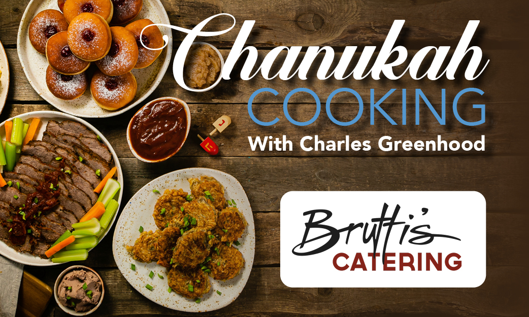 Chanukah Cooking with Charles Greenhood