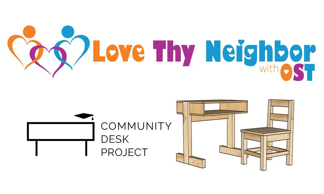 Love They Neighbor Community Desk Project