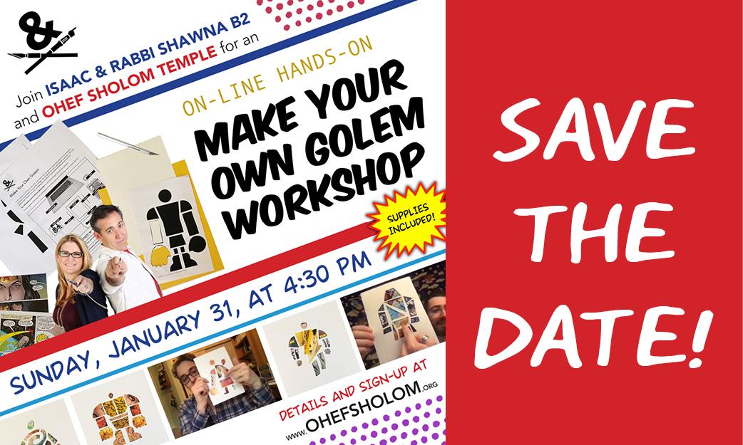 Paper Midrash Golem Workshop